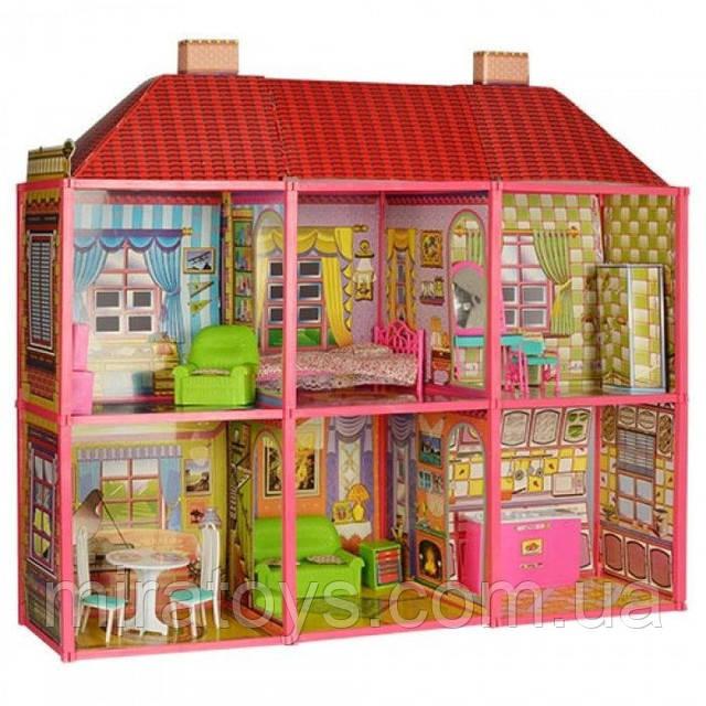 Ляльковий будиночок з меблями 6983