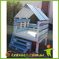 Детские домики из дерева на дачу