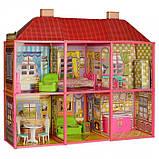 ✅Ляльковий будиночок 6983 з меблями, 2 поверхи та 6 кімнат, 108*93*37 см, фото 2