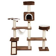 Игровой комплекс для котов Big house с домиком для кошки и когтеточкой, фото 3