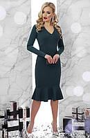 Платье GLEM Василина S Темно-зеленый GLM-pl00001, КОД: 305716