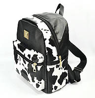 Рюкзак с принтом Print Cow Черно-белый 204752, КОД: 1050699