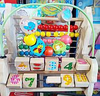 Развивающая игрушка счеты, лабиринт проволока