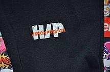 Штаны мужские - спортивные в стиле Heron Preston x Стиль черный, фото 2
