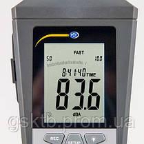 Шумомер с функцией регистрации и расчетом LEQ PCE-322ALEQ (Германия), фото 2