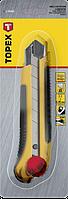 Ніж з відламуються лезом 25мм TOPEX 17B490