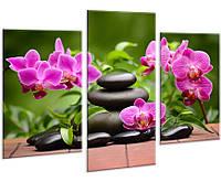 Модульная картина на холсте YS-Art 96х70см Цветы HMD115, КОД: 1081531
