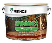 Масло для дерева безколірне Teknos WOODEX WOOD OIL, 9 л