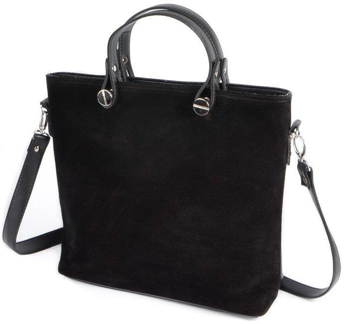 Женская замшевая сумка Натуральный замш