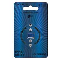 Карта памяти Borofone microSDXC 8GB class 10 синяя