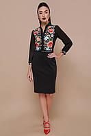 Платье GLEM Лилианна M Черный GLM-pl00216, КОД: 717831