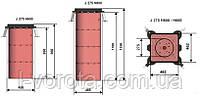 FAAC J275 F H800 INOX боллард (стационарный), фото 2