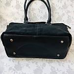 Женская сумка замш черная  (1079), фото 8
