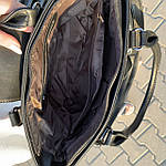 Женская сумка замш черная  (1079), фото 9