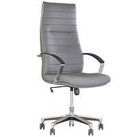 Кресло для руководителя IRIS (ИРИС) STEEL CHROME, фото 1