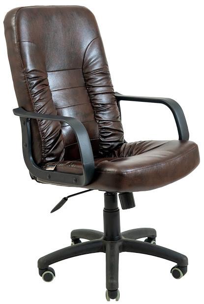 Кресло Техас пластик 2 кат коричневое