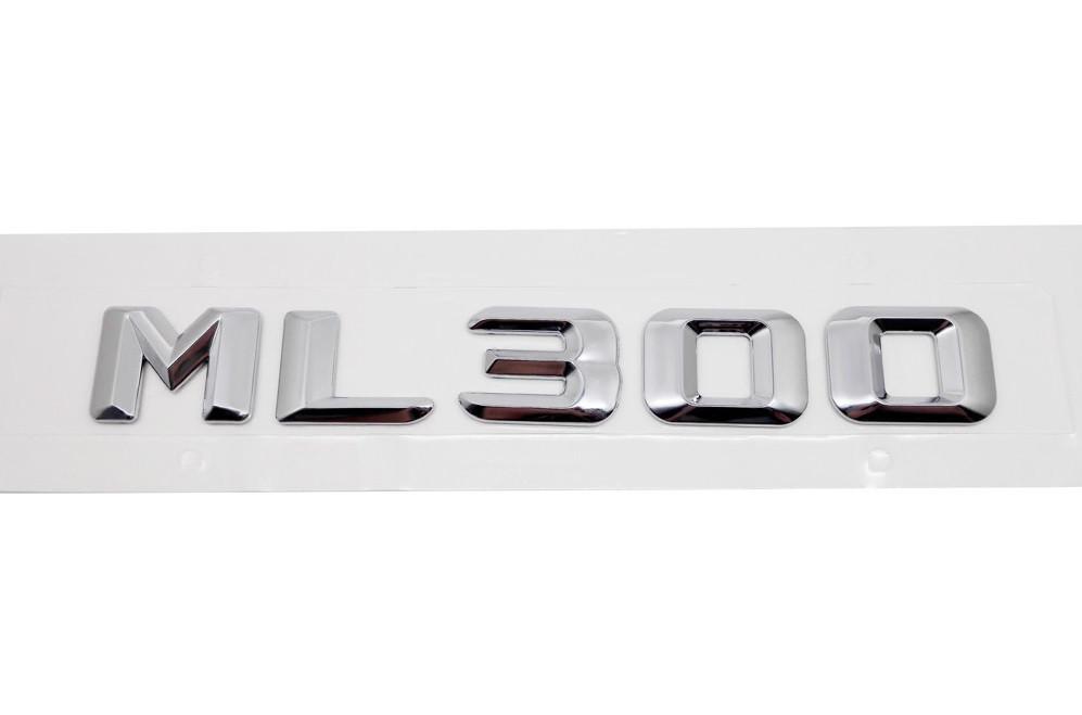 Хромированная Эмблема Шильдик надпись ML300 Мерседес Mercedes