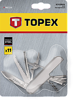 Швейцарский нож 11 функций TOPEX 98Z116