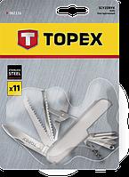 Швейцарський ніж 11 функцій TOPEX 98Z116
