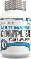 BioTech USA Nutrition MULTI MINERAL COMPLEX  (100tab)