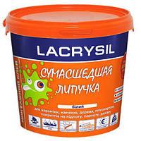 Клей Сумасшедшая Липучка монтажный акриловый Lacrysil белый 1,2 кг
