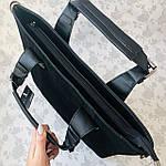 Женская сумка замш черная  (1078), фото 8