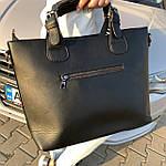 Женская сумка замш черная  (1078), фото 5