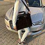 Женская сумка замш черная  (1078), фото 4
