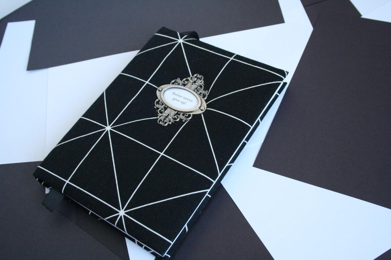 Дизайнерский блокнот записная книга мужчине чистые белые листы