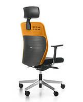 Кресло офисное компьютерное на колесиках с подголовником DUAL 103 black (Польша, Bejot)