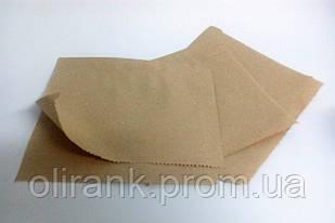 Пакет-куточок паперовий КРАФТ жиростойкий 150*140 (500шт)