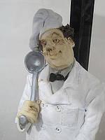 Эксклюзивная статуэтка Шеф - повара. Авторская керамика