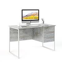 """Письменный стол """"Универ 6 Белый""""  740x1200x600 мм Кантри"""