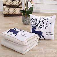 Подушка-одеяло SUNROZ Blanket Pillow 2 в 1 40х40 / 110х150 Стиль 2 (SUN5658)
