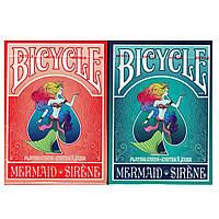 Покерные карты Bicycle Mermaid
