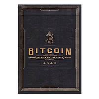 Покерные карты Bitcoin Black, фото 1