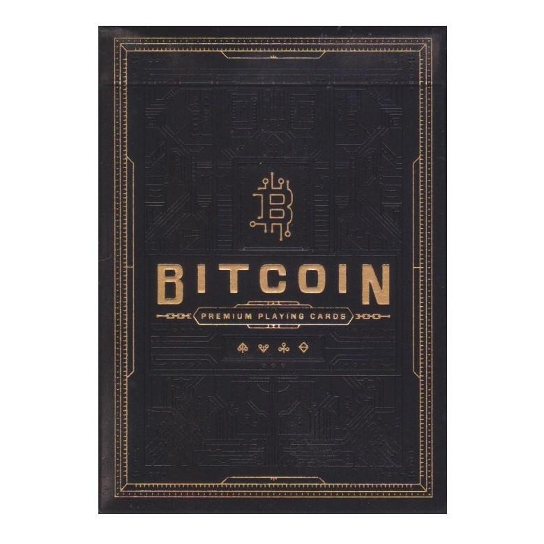 Купить Покерные карты Bitcoin Black