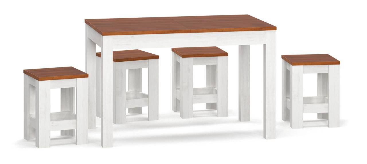 Дельта / стіл + табуретки