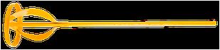 Міксер для лакофарбових матеріалів 80мм TOPEX 22B218