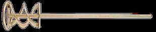 Міксер для будівельних сумішей 100мм TOPEX 22B110