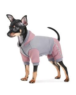 Костюм для собак Pet Fashion Рикки Серый S