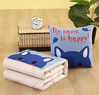 Подушка-одеяло SUNROZ Blanket Pillow 2 в 1 40х40 / 110х150 Стиль 8 (SUN5664)