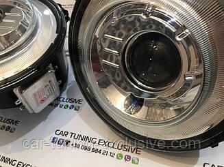 Headlamps 6x6 for Mercedes G-class W463
