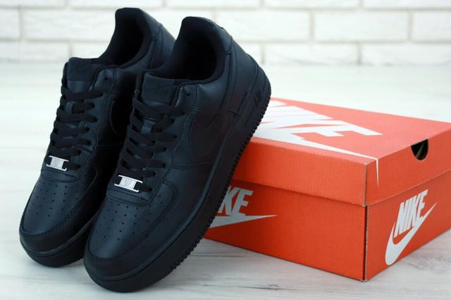 Nike Air Force 1 Low Black фото