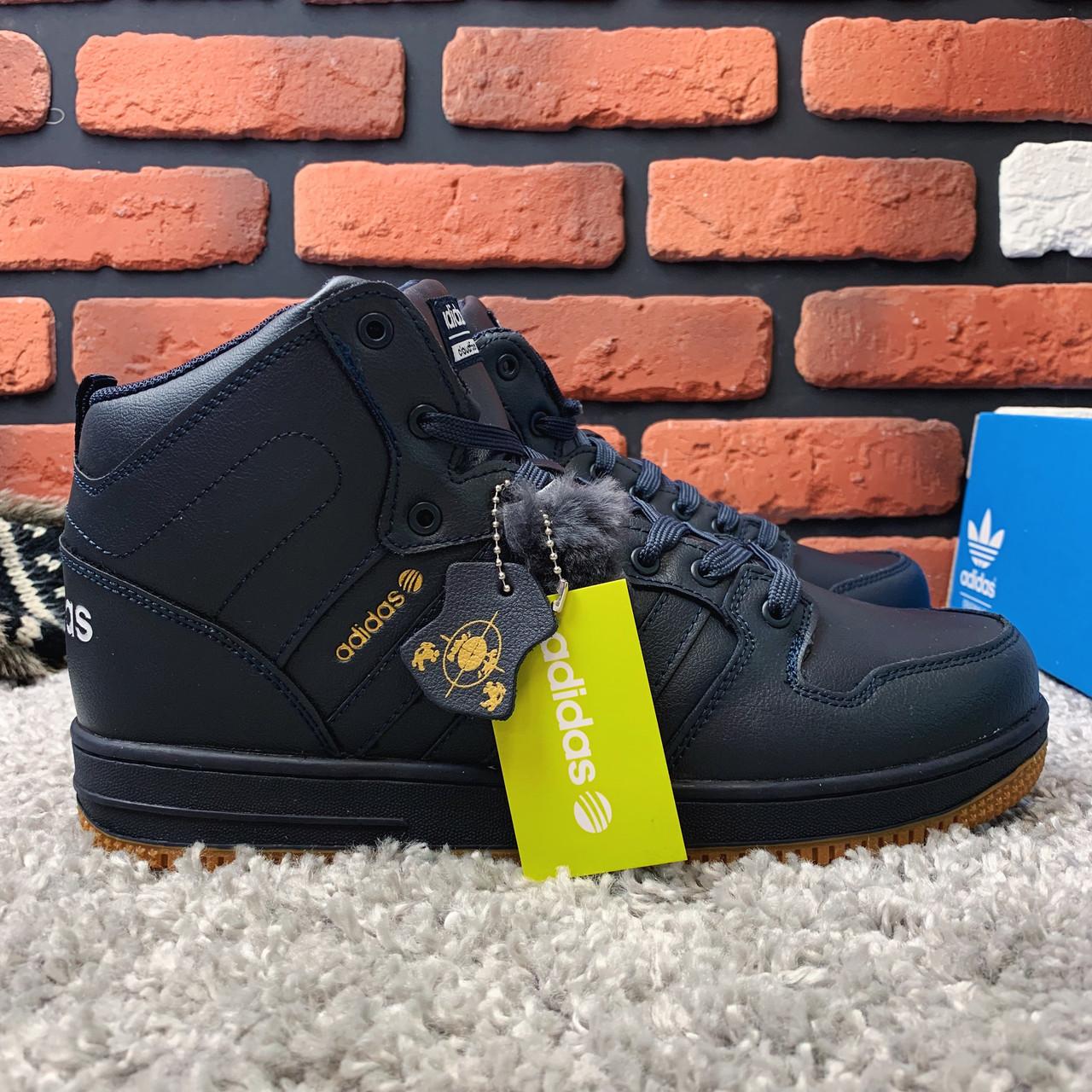Зимние ботинки (на меху) мужские Adidas Cloudfoam 3-046 ⏩ [ 44,44,45 ]