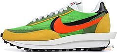 Женские кроссовки Nike LD Waffle Sacai Green Multi BV0073-300, Найк ЛД