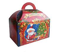 Упаковка для конфет на Новый год и Николая Красный сундук