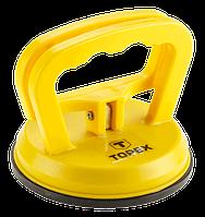Присоска для стекла (стеклодомкрат) TOPEX 14A740