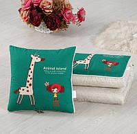 Подушка-одеяло SUNROZ Blanket Pillow 2 в 1 40х40 / 110х150 Стиль 9 (SUN5665)