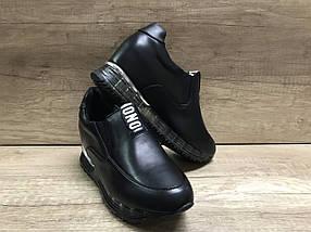 Женские кроссовки из натуральной кожи FLM 33-1 Lonza, фото 2